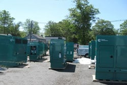 Generators for Afghanistan Generator Installation